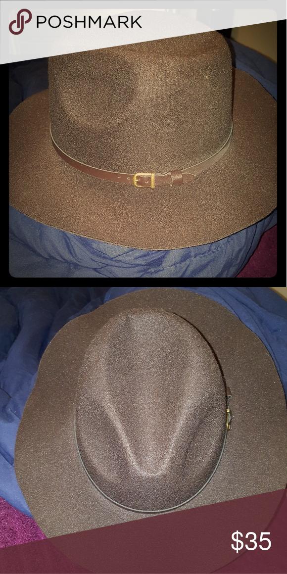 Brown Fedora Hat Fedora Hat Fedora Hats