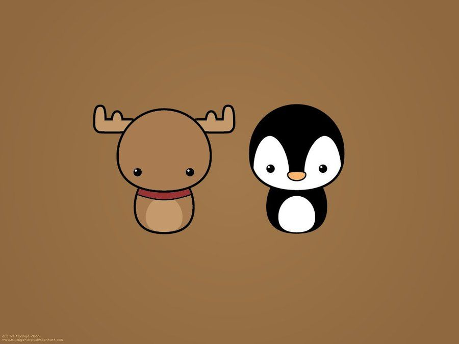 Made On A Christmas 3 I Want Make Yet One Christmas Wallpaper Free For Personal Use Only Penguin Wallpaper Xmas Wallpaper Kawaii Doodles