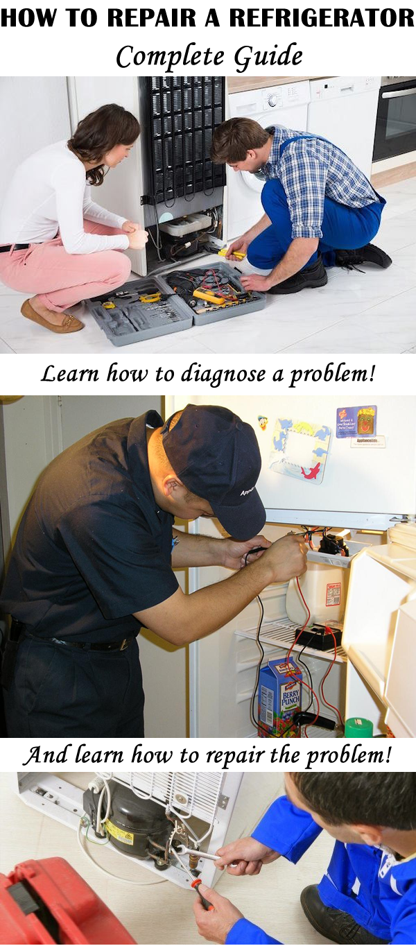 How To Repair A Refrigerator Power Home Repairs Home
