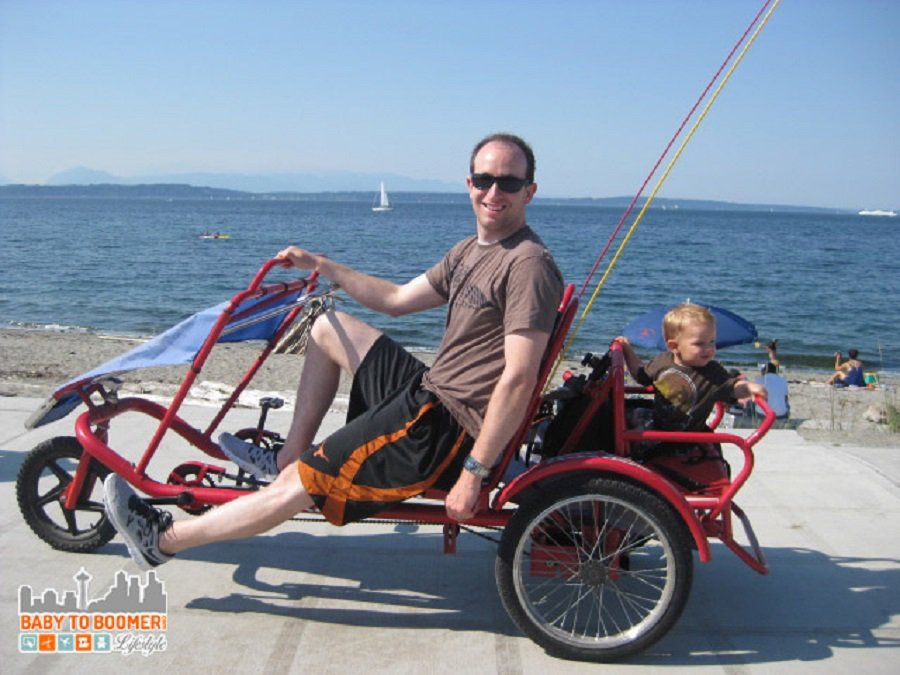Bikes At Alki Beach For The Whole Family Things To Do With Kids In Seattle