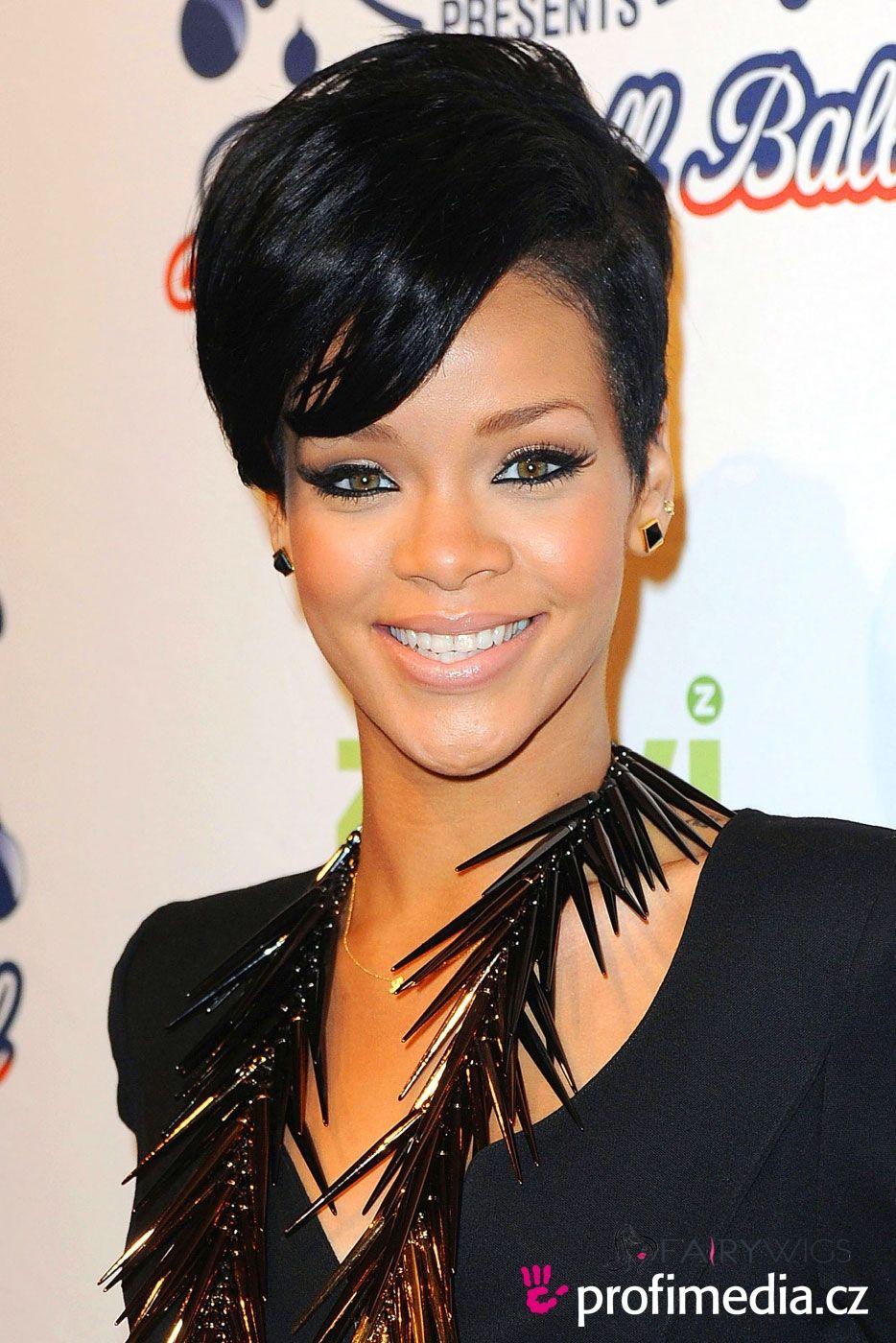 Stunning Short Black Female Celebrity Hairstyle Fairywigs