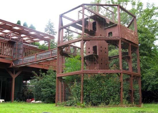 Now That Is A Catio Artofthfirebird Outdoor Cat House Outdoor Cat Enclosure Cat House