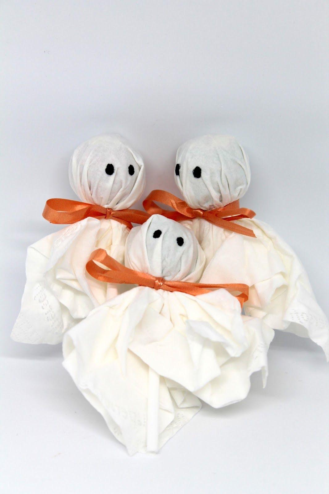 DIY Lolly Geister - ♡ Süßes sonst gibt es saures! Mit dieser ...