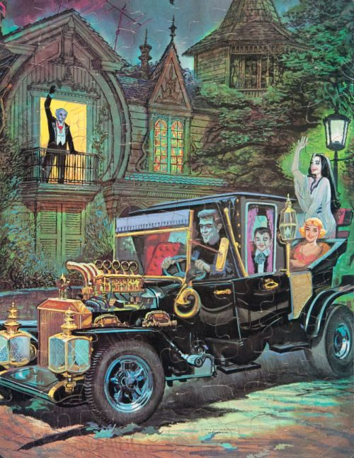 1965 Munsters puzzle