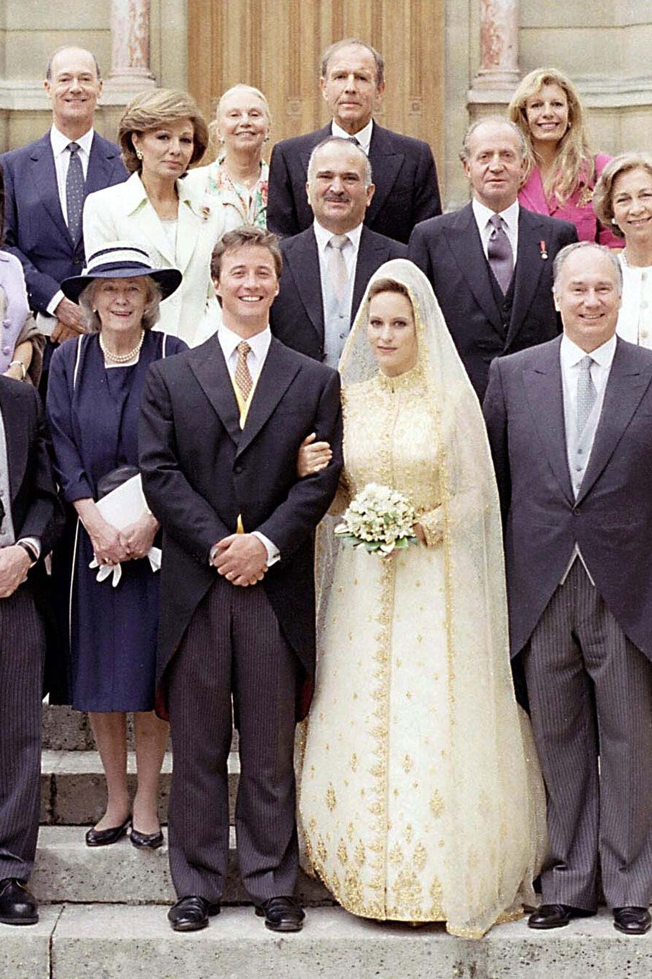 JUNE 1997 – Princess Zahra Aga Khan marries Mark Boyden at the Château de Chantilly in Paris.