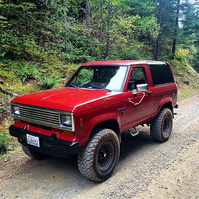 1988 Red White Ford Bronco 4x4 W Hard Top Removable Spent
