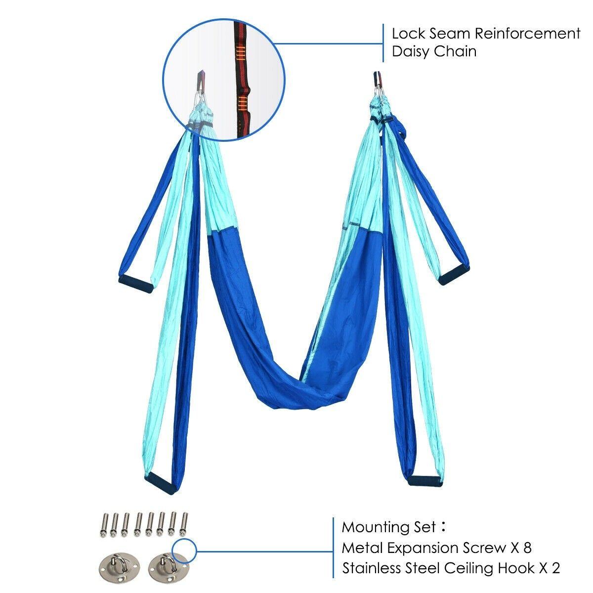 Swing Set AntiGravity Shaping Adjustable Yoga Belt
