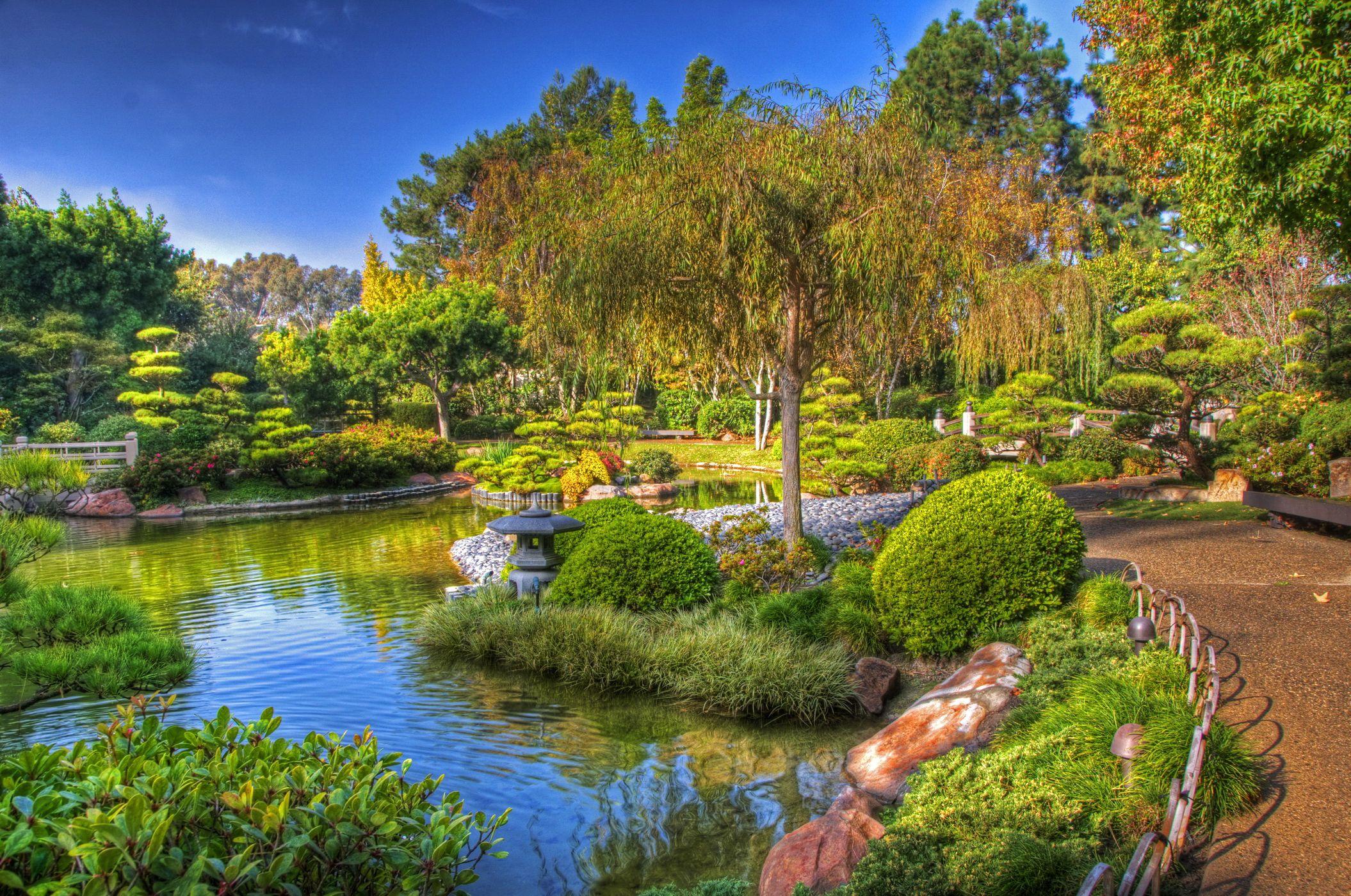 Incredible Earl Burns Miller Japanese Garden Cal State Long Beach