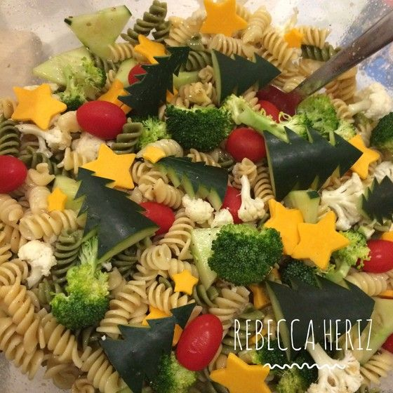 healthy christmas pasta salad a healthy veggie loaded pasta salad that works well with