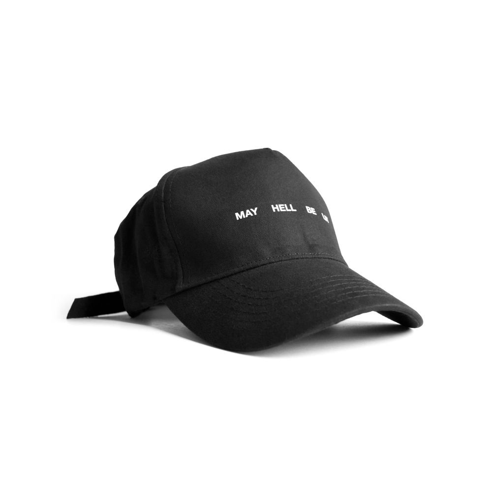d7c11e1b3 Image of MAY HELL BE LIT | •head game strong• | Baseball hats, Hats ...