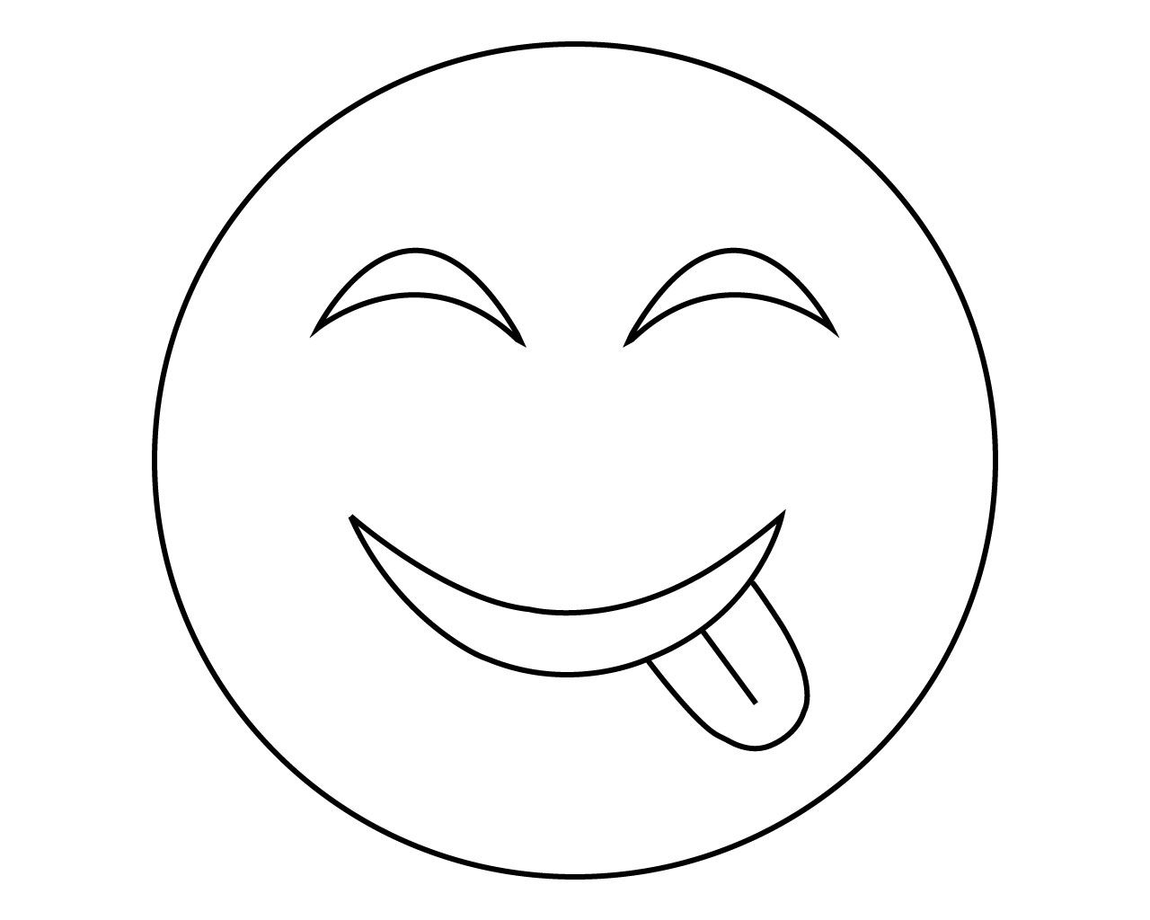 Printable Emoji Coloring Pages For Your Lovely Toddlers ...