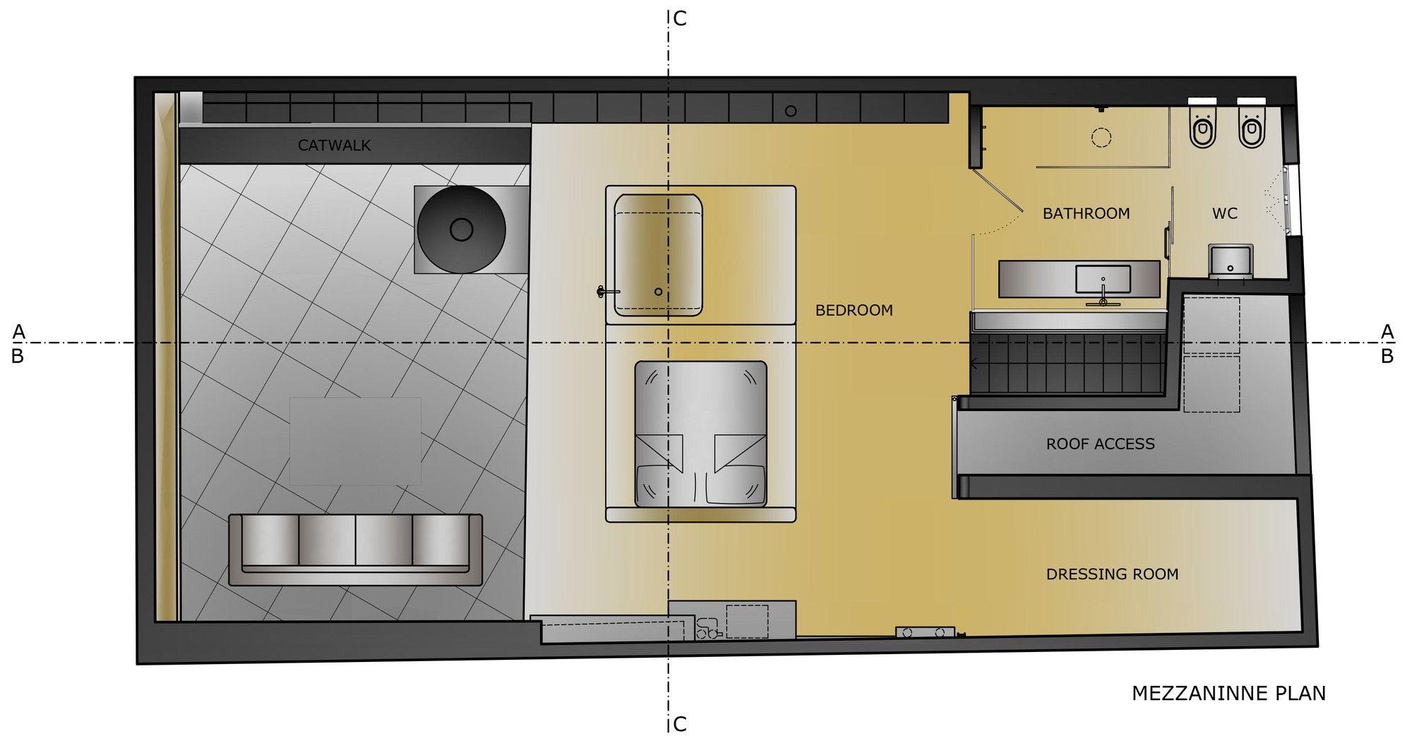 Gallery Of Karakoy Loft Ofist 19 Loft Design Loft Floor Plans Industrial Interior Design
