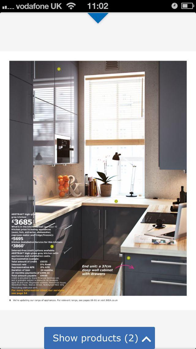 Ikea kitchen Küche Pinterest Küche