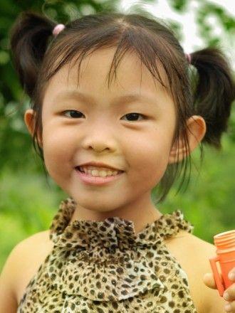 Asian under 5 Children's Hair Styles