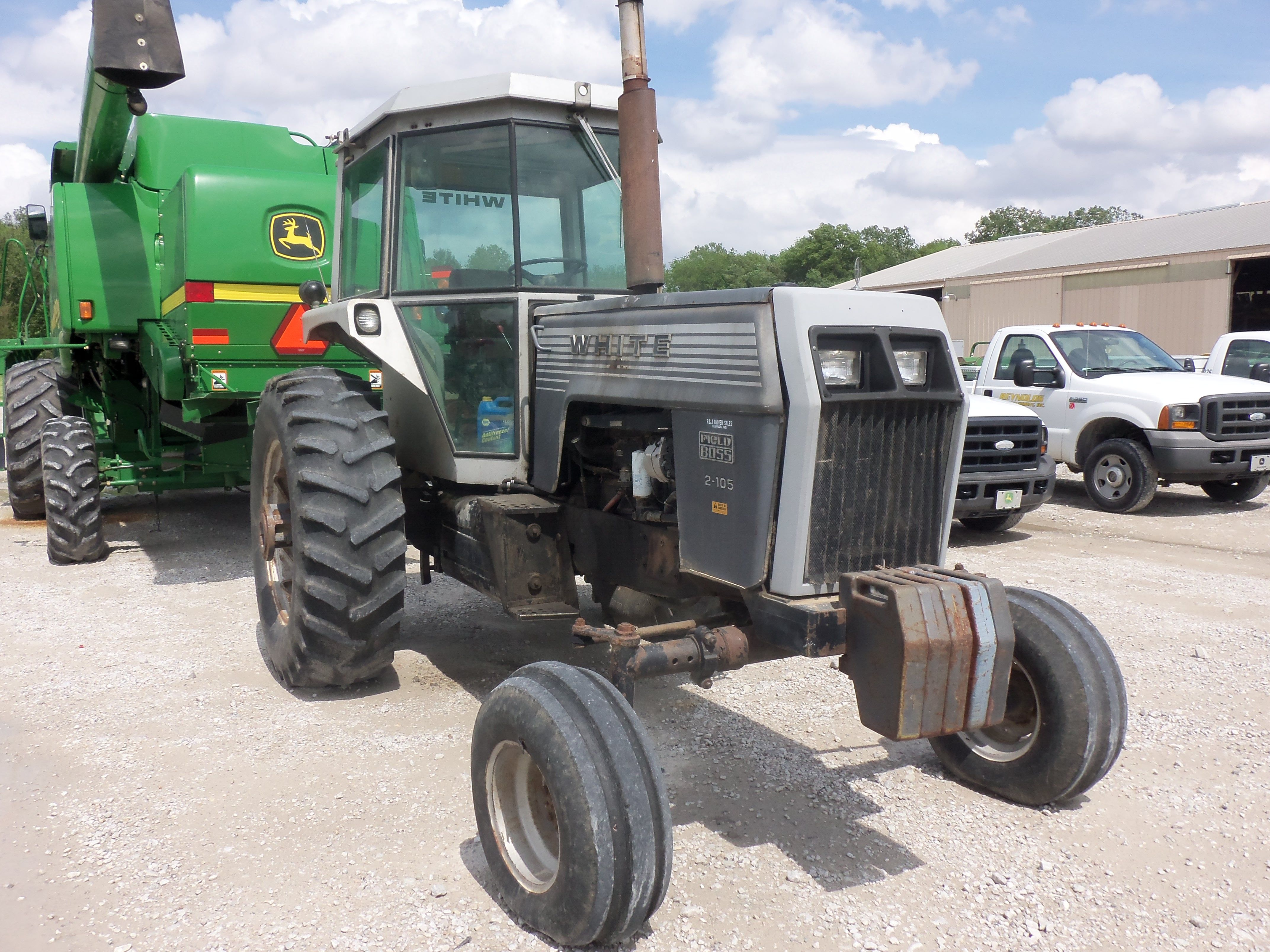 Was Very To See This 2 105 Field Boss In Lebanon White Tractor