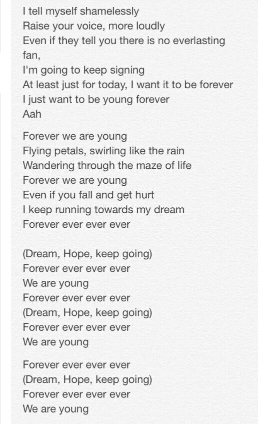 2/3 Translated Lyrics for Young Forever by #BTS #방탄소년단 Rap