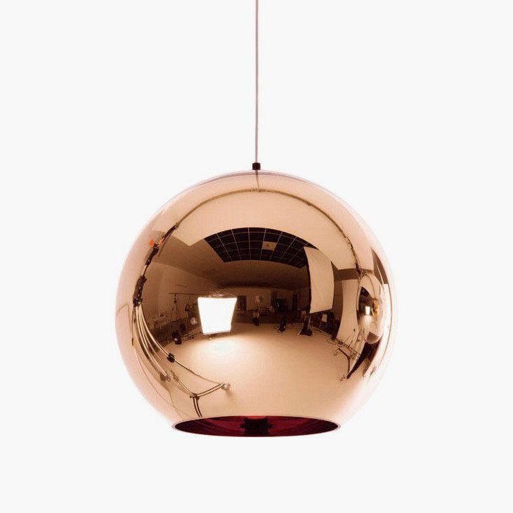 Copper shade ball pendant light pendant lighting ceiling and lights copper shade ball pendant light mozeypictures Image collections