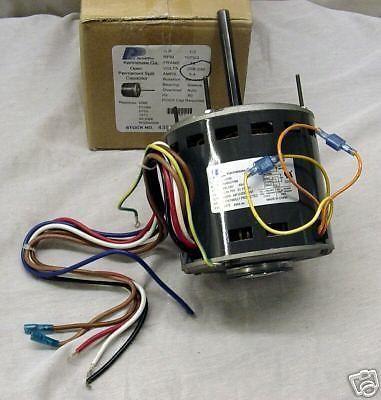 3588 1/2 hp 1075 rpm 230 volts 3 speed furnace blower fan motor