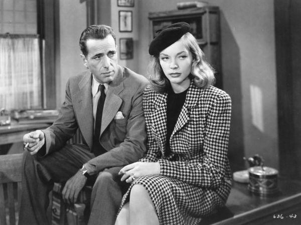 Humphrey Bogart, Lauren Bacall - The Big Sleep.