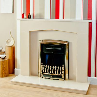 The Westleigh marble fireplace is the ideal choice to warm and light your home with a contemporary and modern look. If you would like to bring a little tradition and luxury into your home this piece is a beautiful example. It's a great choice for anyone that is looking for a beautifully detailed and crafted fireplace. You will find yourself and your guests pleasantly drawn to this beautiful fireplace.