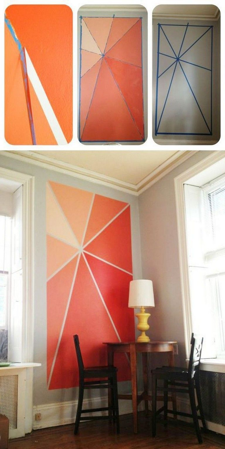 Cool Wall Decoration Canvas Painting Ideas With Inspirational Quotes In 2020 Diy Wall Painting Wall Paint Designs Home Decor