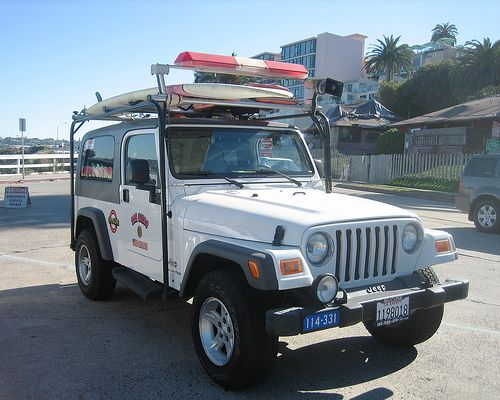Lifeguard Jeep San Diego Fire Rescue Rescue Vehicles