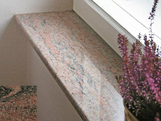 In hochwertiger Verarbeitung entsprechen Granit Fensterbänke auch ...
