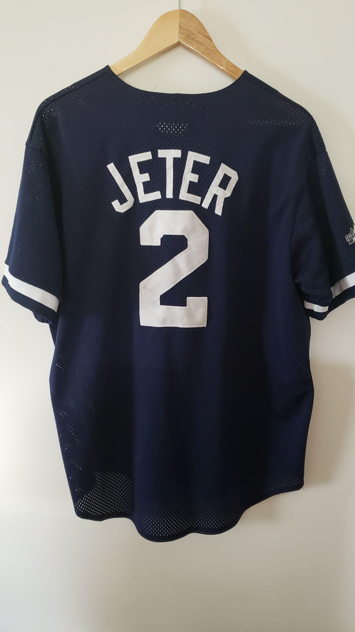 finest selection db699 d5a2c Xl Stitched Rackraidersvtg com Vintage - Yankees Jeter Urban ...