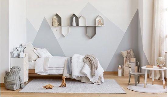 Pin Von Elise Chaffee Auf Kids | Pinterest | Kinderzimmer, Wände Und Kinderzimmer  Wand
