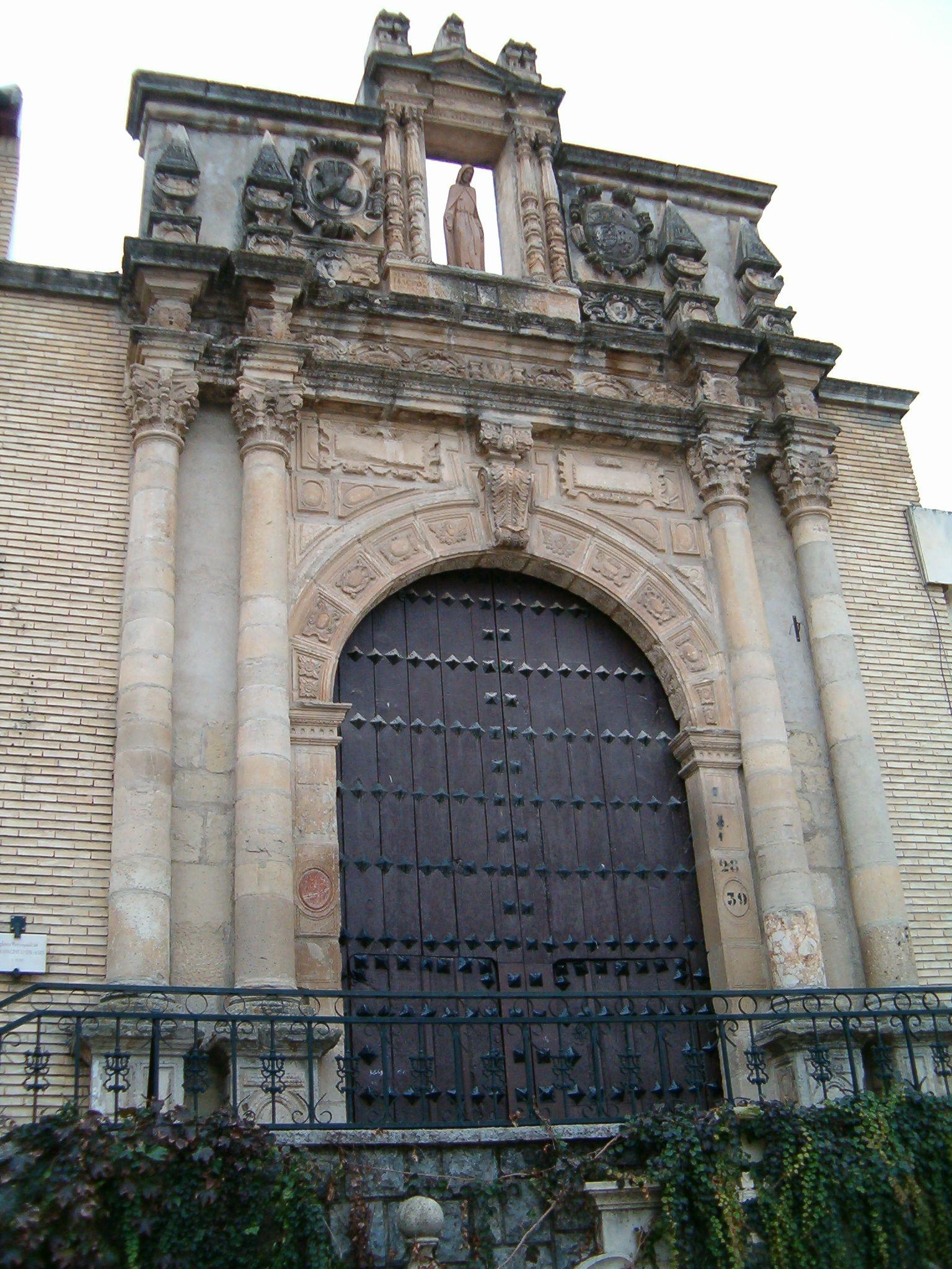 fachada de la parroquia de San Francisco