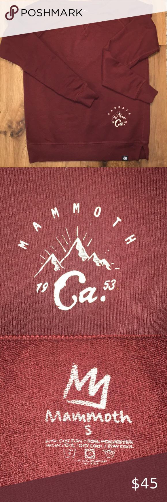 Mammoth Mountain Maroon Sweatshirt Nwot Maroon Sweatshirt Maroon Sweatshirts [ 1740 x 580 Pixel ]