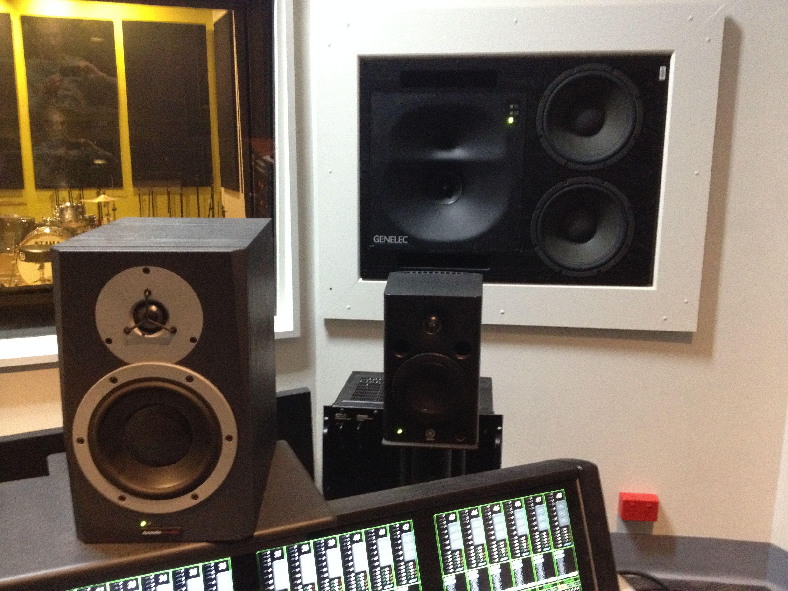 Studio A monitor arrangement (right) Studio, Monitor