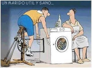 Un Marido Util Y Sano Jajajaja Cycling Funny Bike Humor Cycling Humor