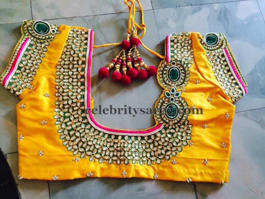 Kundan Work Designer Blouse Patterns Blouse Work Designs Wedding Blouse Designs,Gorgeous Lehenga Blouse Designs 2020 For Girl