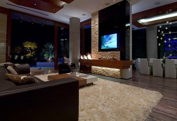 Contemporary Bachelor Pad Ideas Elegant Living Room Design Modern Furniture Lighting
