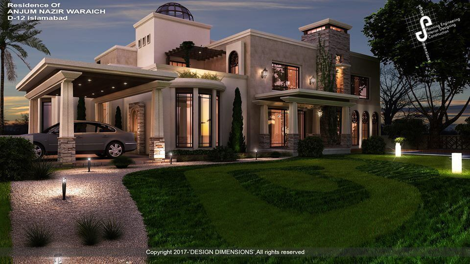 Project contempo classic farm house location d 12 islamabad