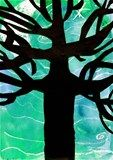 Artsonia Art Exhibit :: Tree Silhouette -4