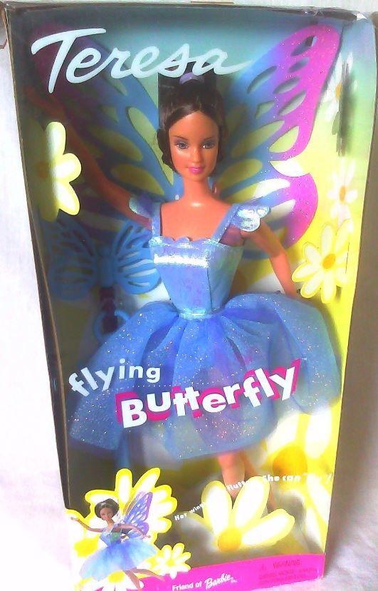 2001 Flying Butterfly Barbie Teresa