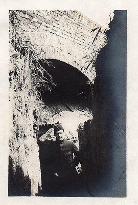 WWI, May 1915, Arras - Entrée de l'abri des téléphonistes