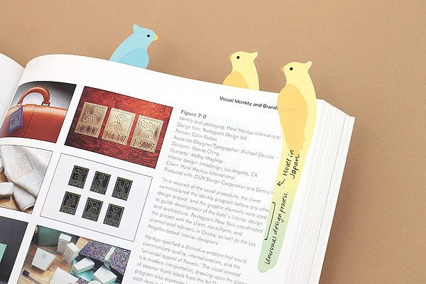Weird Office Supplies   Midori Writing Marker Adhesive Notes   The Muse