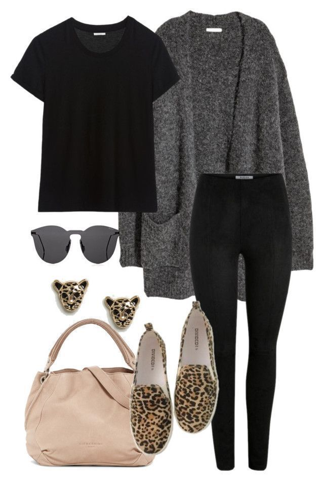 #87 by mintgreenb on Polyvore featuring Kofta, Liebeskind, H&M, Illesteva and M #winterfashion