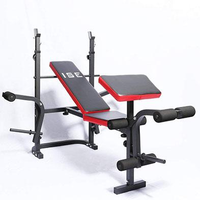 Ise Banco De Fitness Multifuncional Inclinable Para Entrenamiento Completo Banco De Musculacion Bancos De Pesas Aparatos Para Hacer Ejercicio
