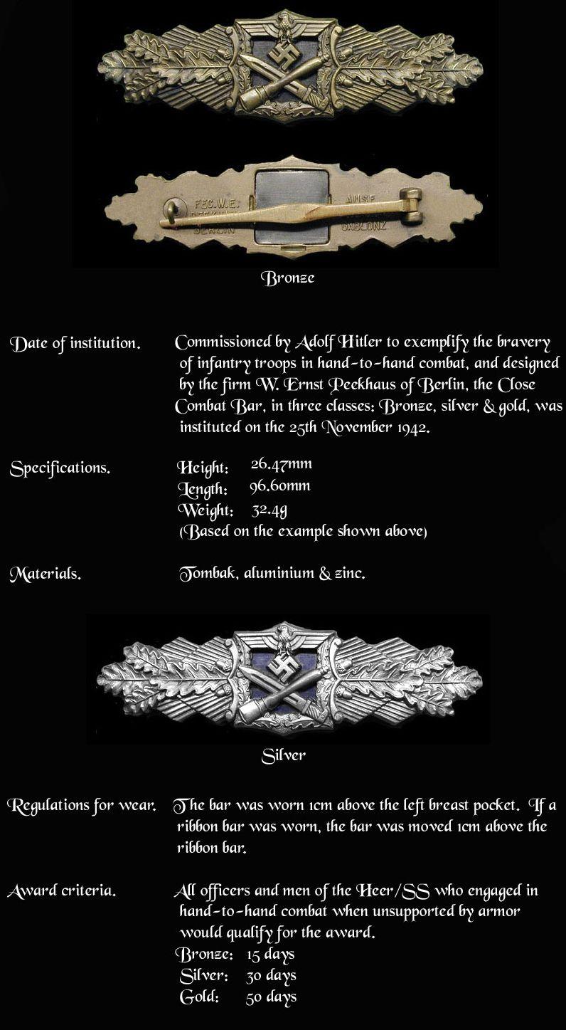 Close Combat Bar