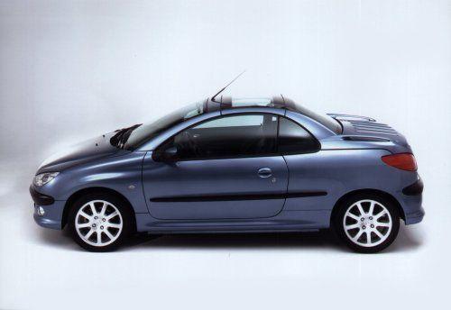 Peugeot 206 Cc Ciel Bleu Heuliez 2001 Peugeot Pinterest