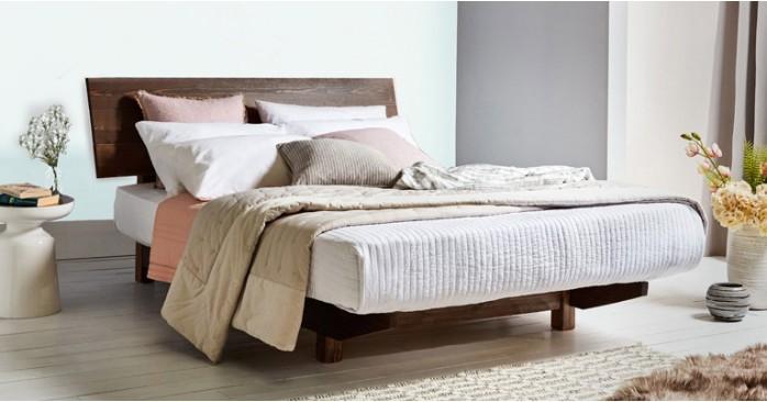 Floating Bed Space Saving In 2020 Floating Bed Loft Bed Frame