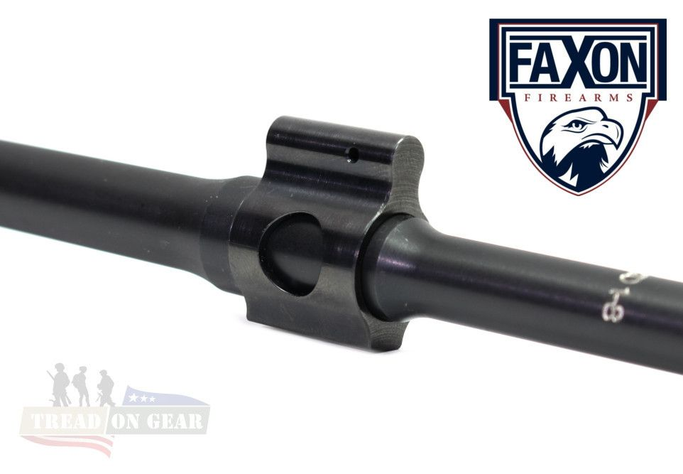 "FaXon Firearms .625"" Ultra Low Profile Gas Block"