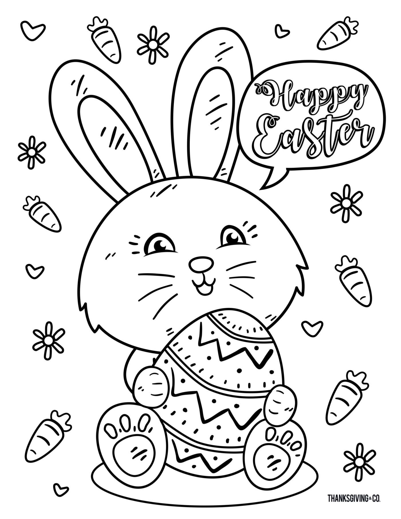 8 Free Printable Easter Coloring Pages Your Kids Will Love From Makeitgrateful Com East Easter Printables Free Easter Coloring Book Easter Coloring Pictures