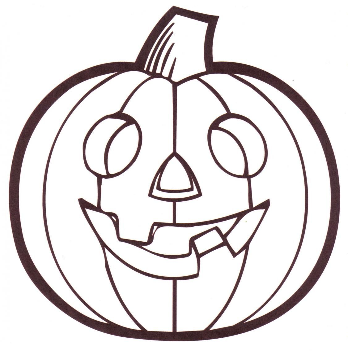 faceless pumpkin coloring pages - photo#7