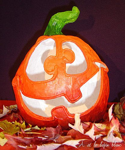 Zucca Halloween Cartapesta.Zucca In Carta Pesta Riciclo Creativo Pinterest Halloween E
