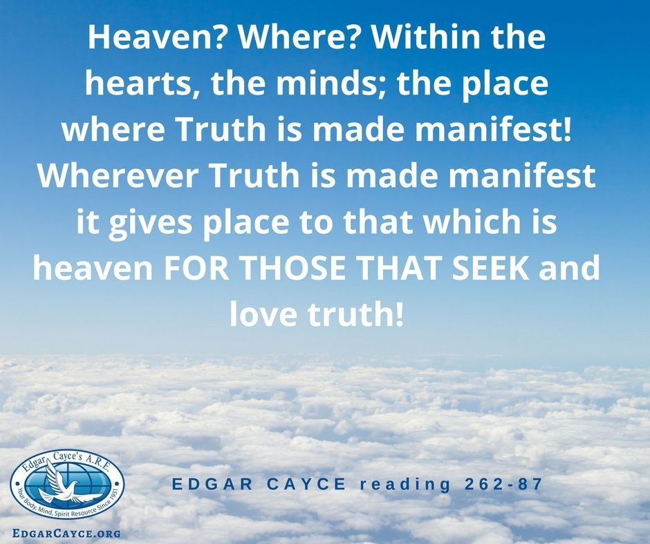 Edgar Cayce (@EdgarCayceARE) on Twitter | cayce | Edgar cayce, Love